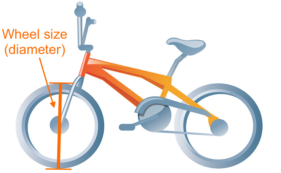 Bike Sizes For Kids How To Measure Measure bike size kids wheel