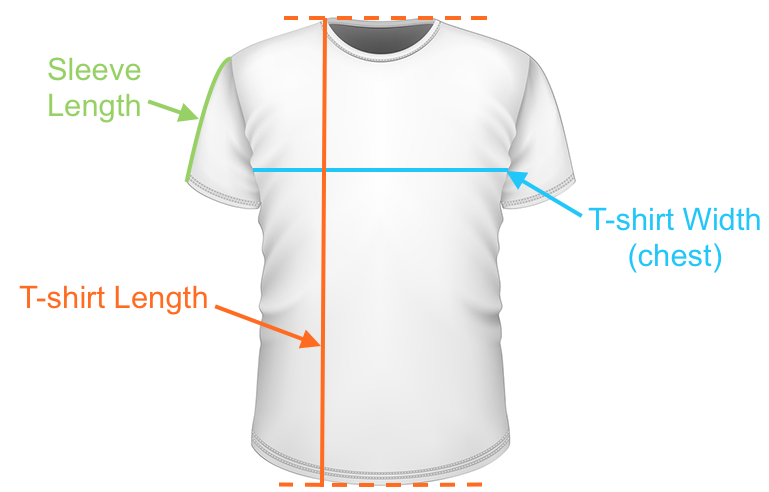 Boys T Shirt Size Measurements